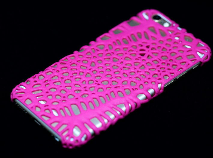 iPhone6 Case Cells (Extreme Voronoi Edition) 3d printed