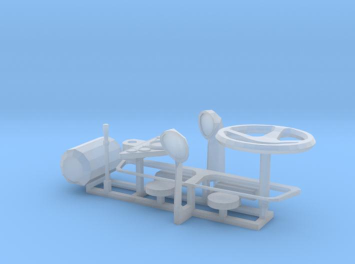 Lancia Beta Small Parts 3d printed
