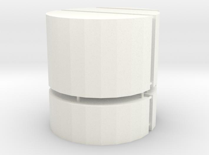 1x2x3 Barrel Bump 3d printed