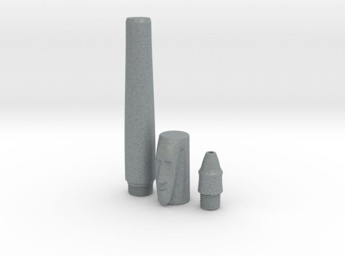 Stone Mask Rollerball Pen Components 3d printed