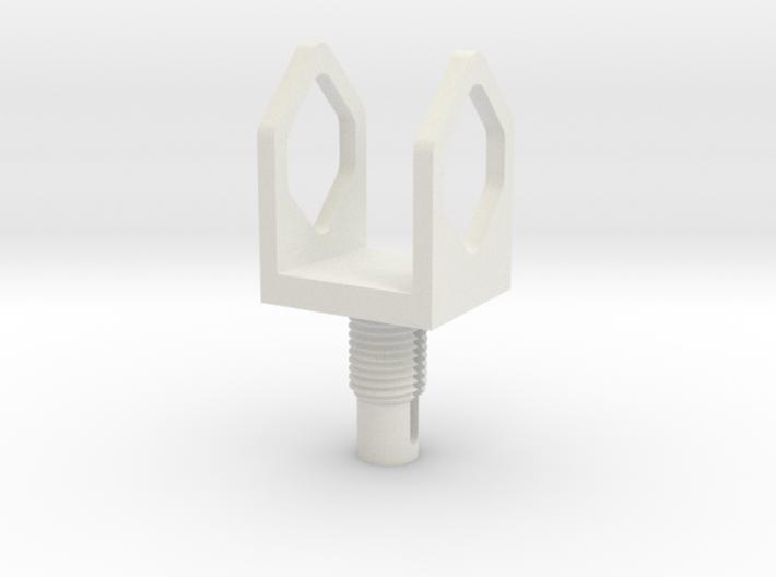 Tool Carrier - Custom Dremel adapter 3d printed