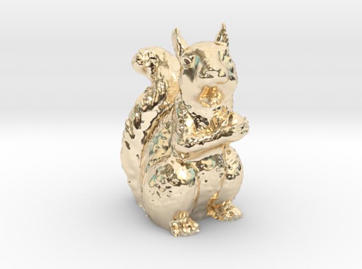 Guardian Squirrel 3d printed