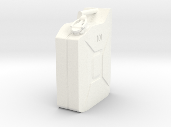 10L Jerry Can 1/10 scale 3d printed