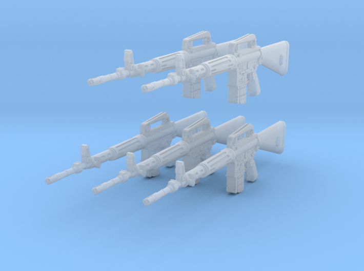 1-18 Armalite XM-10 Set 3d printed