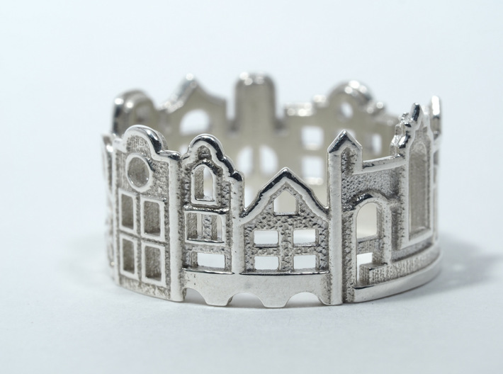 Amsterdam Ring - Gift for Traveler 3d printed