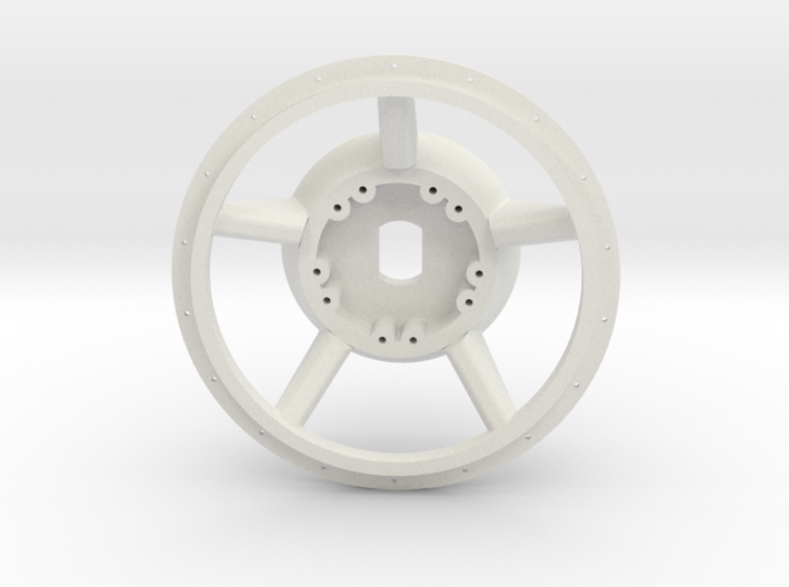 1/16 E-100  Drive Wheel  Part 1    3d printed