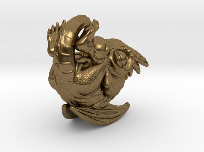 Dragon Baby Talisman 3d printed