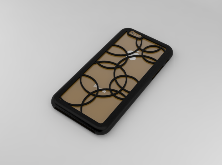 Iphone 6 case 3d printed digital view
