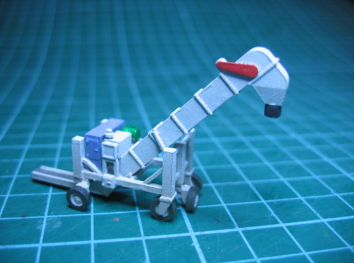 N scale 1/160 Conveyor Unloader (Transloader) 3d printed Detail is very good, even in FUD.