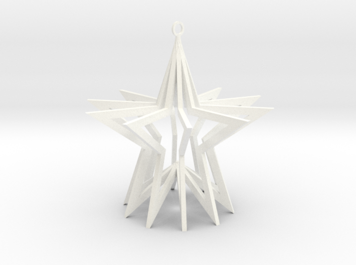 Holiday Ornament 3d printed