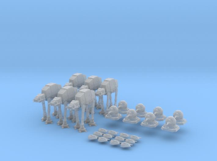 Battle of Hoth (edravis) 3d printed