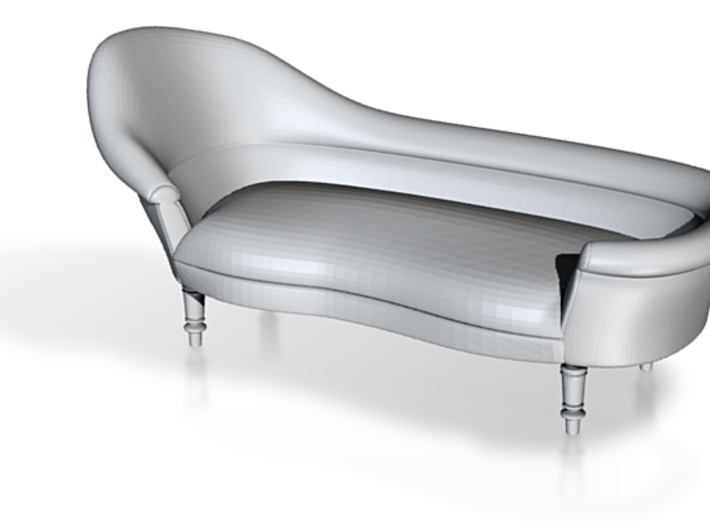 1:48 19th Century Victorian Chaise 3d printed