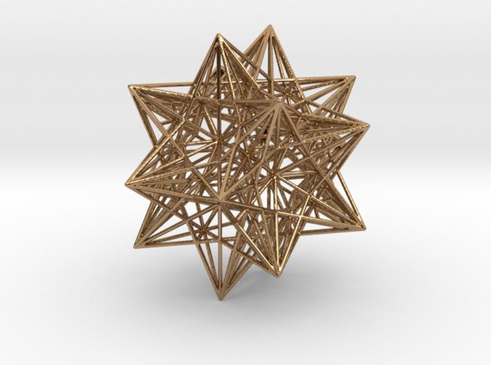Icosahedron Stellation 3 3d printed