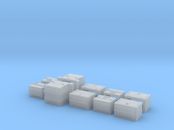 Caboose Battery Box Variety Pack 3d printed