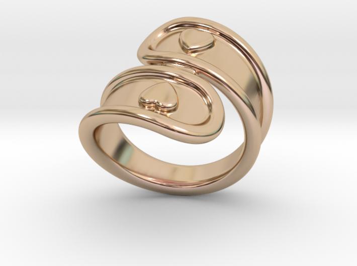 San Valentino Ring 27 - Italian Size 27 3d printed