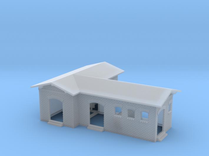 1:220 Nebengebäude / kleines Bahnhofsgebäude für Z 3d printed