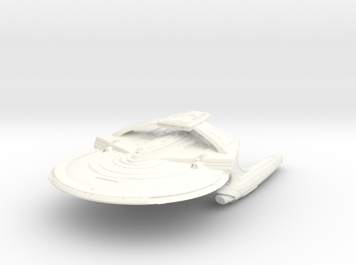 Reliant Refit A Class Cruiser Small 3d printed
