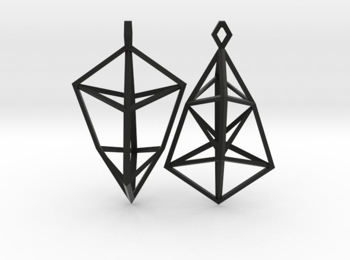 SSym earring 3d printed