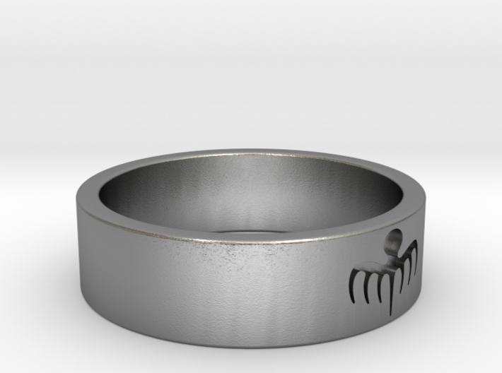 Spectre Ring - Size 8 ½ 3d printed
