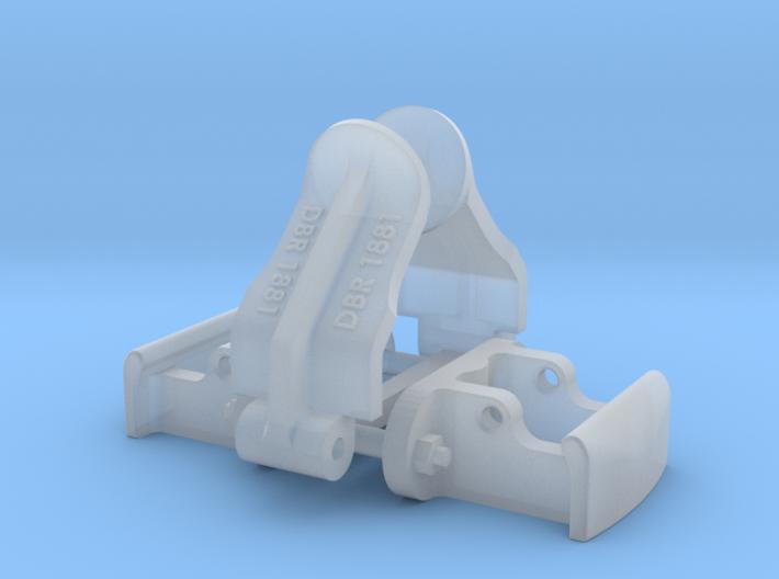 1:24 Heywood Coupler Assembly DBR 3d printed