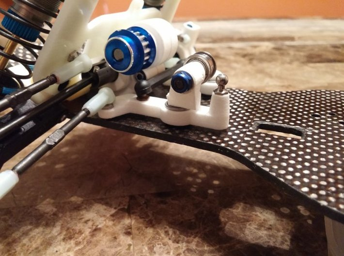 RC10 Ten4 Short Wheelbase Front Belt Tensioner 3d printed