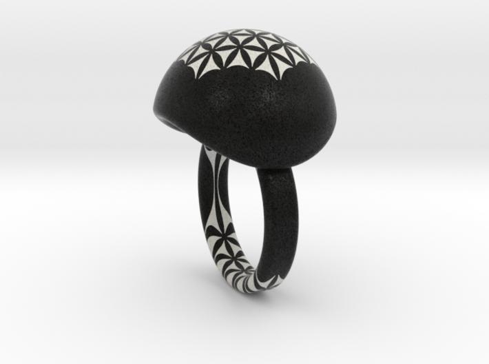 VESICA PISCIS Ring Nº28 3d printed