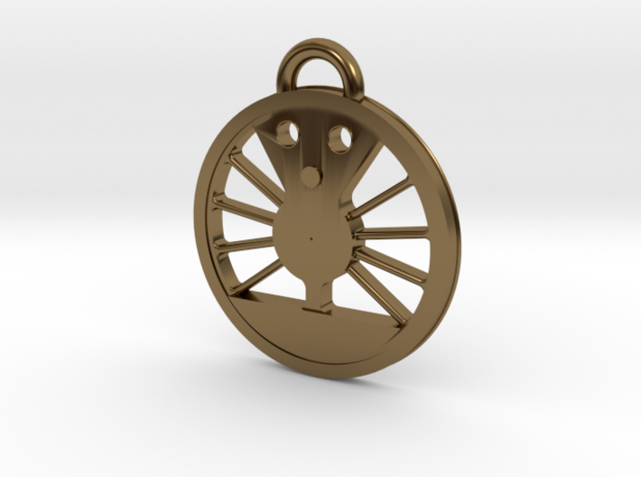 #611 J Class Driver Necklace 3d printed