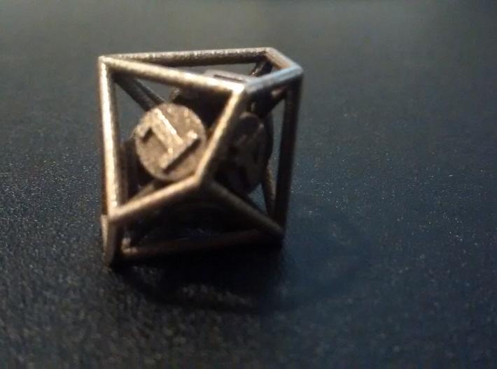 10-Sided Vector Die (1%s) 3d printed