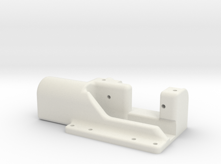 Model aeroplane aerotow hook for towplane 3d printed