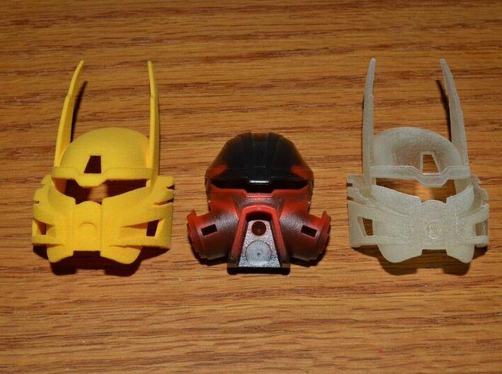 Bionicle Heroes style Kanohi Ignika 3d printed