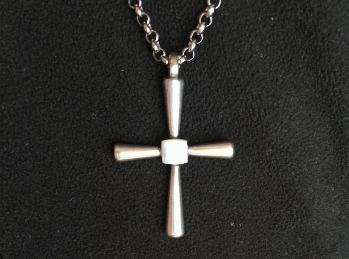 Caedmon's Cross 3d printed