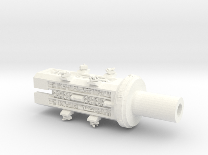4222 Omega Midships 3d printed