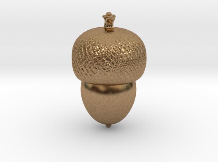 acorn pendant 3d printed