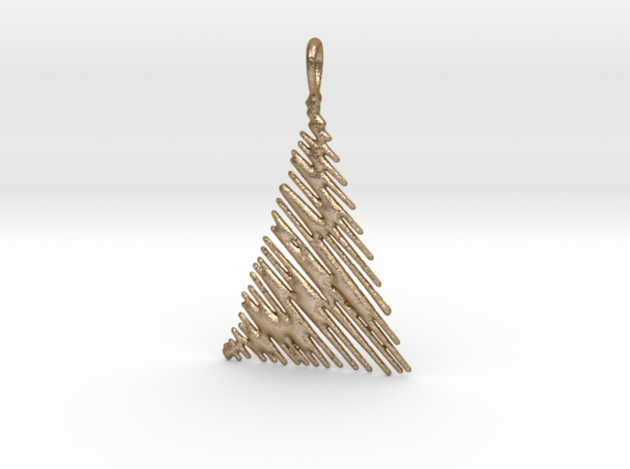 Christmas Tree Pendant Style 1 3d printed