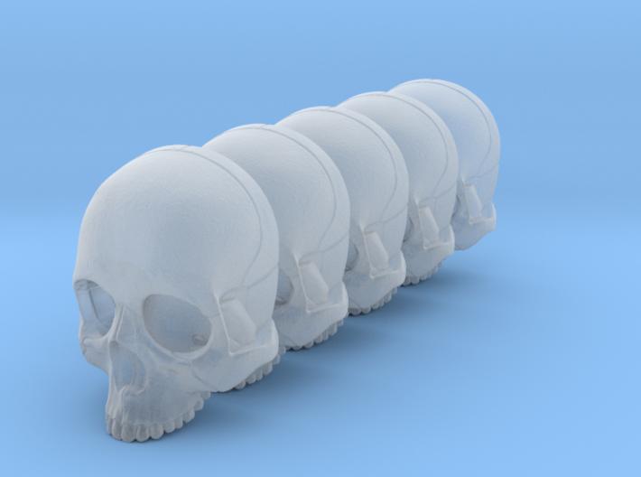 Bsi-skull-human-08mm-nojaw 023 3d printed