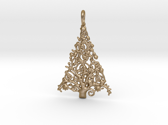 Christmas Tree Pendant 7 3d printed