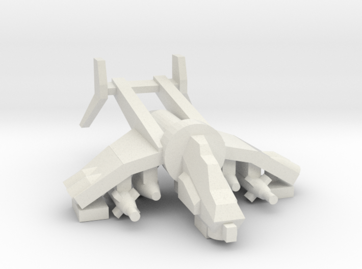[5] Gunship (Bunker Buster) 3d printed