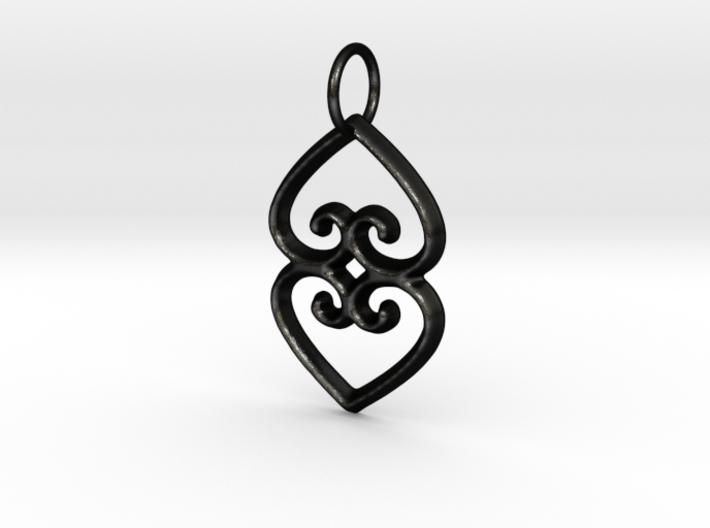 ASASE YE DURU (Adinkra Symbol of Mother Earth) 3d printed