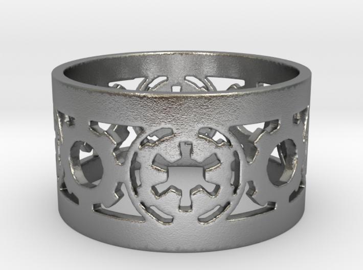 DarkSide Ring alfa Size 10 3d printed