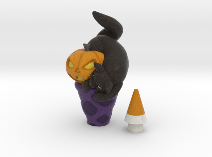 Halloween icecream 3d printed