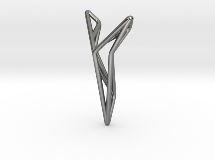 YOUNIVERSAL STRUTCURA, Pendant. Structured Eleganc 3d printed