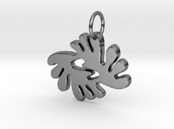 BI NKA BI (Adinkra Symbol of Peace and Harmony) 3d printed