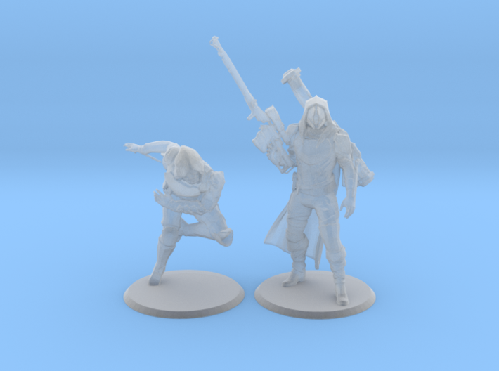Gunslingers For Pratienza 3d printed