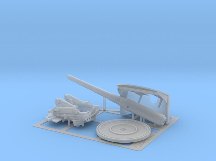 6 Inch Deck Gun 1/32 3d printed