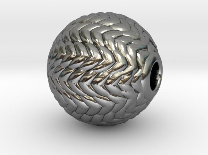 V Ball Pendant 9 mm O.D. 3d printed