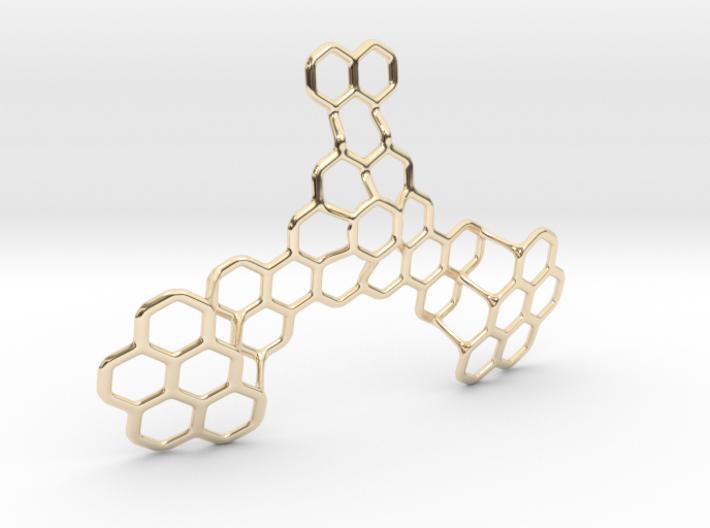 Hex Honeybird - 9cm 3d printed