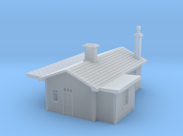 N Scale Adlestrop railway station 1:148 3d printed