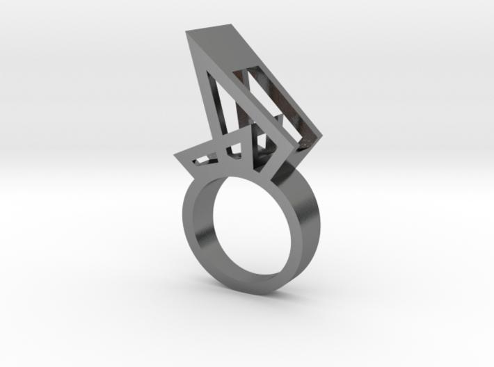 Nora Sail Ring 3d printed