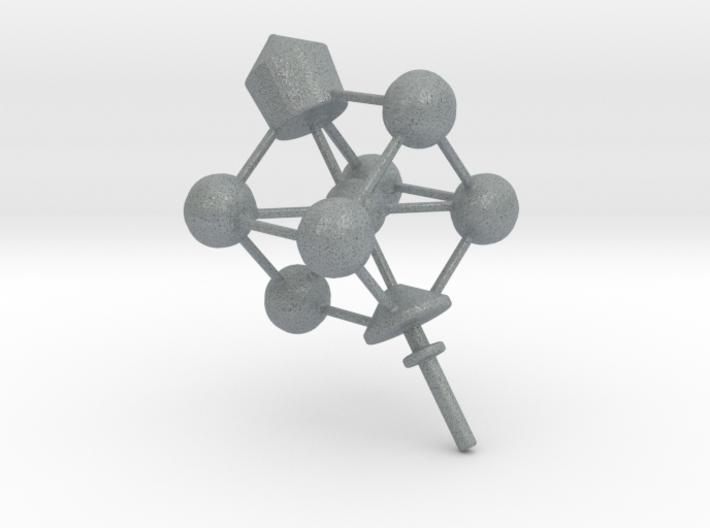 Dreidel Crystal Structure 3d printed
