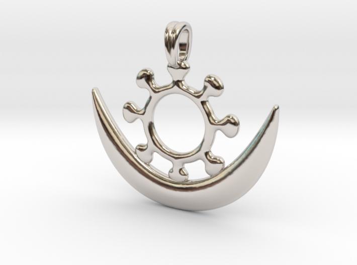 Symbol OSRAM NE NSOROMMA Jewelry Necklace 3d printed
